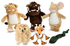 The Gruffalo, Mouse, Child, Soft Toy Fox Owl Snake Finger Puppet Story Set  EYFS
