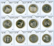 Schweiz  10 Franken Gedenkmünze stempelglanz (Wählen Sie unter: 2005-2016)