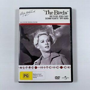 The Birds DVD 1963 movie Hitchcock Rod Tayloer Tippi Hedren Region 4