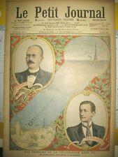 TELEGRAPHIE SANS FIL BRANLY MARCONI MAROC RAZZIAS TRIBUS LE PETIT JOURNAL 1907