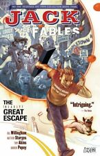 JACK OF FABLES fantasy comic book series #s1-16 collected in 3 softcover books