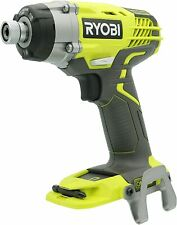 """New Ryobi P237 18-Volt ONE+ 1/4"""" Brushless 3 Speed Impact Driver Tool Only"""