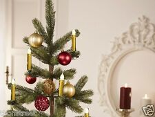 Kabellose LED Christbaumkerzen Weihnachtskerzen Weihnachtsbaumbeleuchtung dimmba