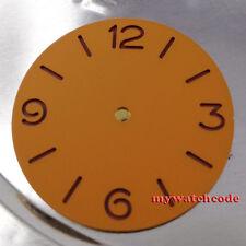38.9mm orange sandwich pure sterile dial fit ETA 6497/98 mens watch D3