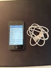 Apple iPod Touch 4th Generation 8Gb - Black - A1367 Mc540Ll/A - Great Condition!