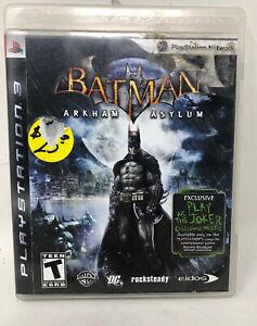 Batman: Arkham Asylum PlayStation 3 PS3