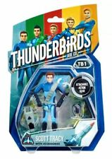 "6 x THUNDERBIRDS ARE GO 3.75"" (9.5cm) FIGURES TB1, TB2, TB3, TB4, TB5, TBS -BNIP"