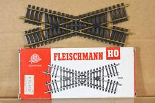 FLEISCHMANN 6061 30 DEGREE CROSSING TRACK 170mm LONG MINT BOXED nj