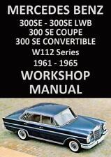buy mercedes benz w car service repair manuals ebay rh ebay co uk Used Mercedes-Benz 300CE Specs Used Mercedes-Benz 300CE Specs