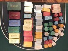 Umfangreiche Sammlung DAL NEGRO Jetons, Chips, Roulette, Poker