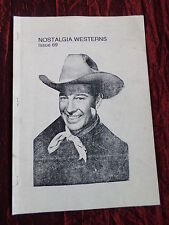 NOSTALGIA WESTERNS FANZINE- NEW ZEALAND ISSUE   #69