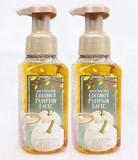 2 Bath & Body Works Noix de Coco Citrouille Café au Lait Moussant Savon à Main