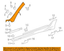 MERCEDES OEM 12-16 SLK350 Exterior-Pillar Trim Right 17269004879999