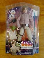 """Star wars Figure 12"""" 1:6 scale Star wars forces of destiny Luke Skywalker & Yoda"""