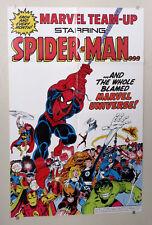 1983 Marvel poster 1:Spiderman/X-Men/Avengers/Hulk/Thor/Iron Man/Captain America