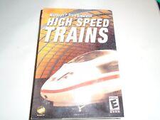 Microsoft Train Simulator High Speed Trains 2003 PC CD-ROM