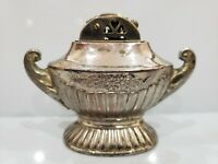 Vintage Silver Tone Automatic Genie Alladin Table Lighter, Made in JAPAN 1821.40