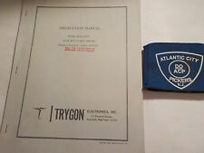 Trygon Model Sr36-250V High Efficiency Series Instruction Manual