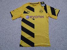 NWT Adidas Puma 2014/15 Borussia Dortmund Authentic Yellow Home Jersey (Size XL)