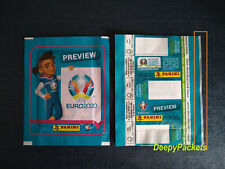 EURO 2020 PREVIEW #03B VERTICAL NO BARCODE Line White PACKET BUSTINA SOBRE POCHE