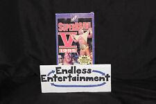 WCW Superbrawl V 5 1995 VHS With Slipcover! HTF OOP Wrestling Cassette!