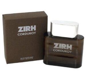 ZIRH CORDUROY 125ml Edt Spray Men's perfume