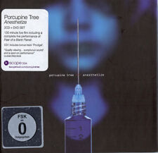 Porcupine Tree - Anesthetize Live In Tilburg 2008 - 2 x CD + DVD SEALED Digibook