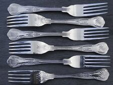 BRAND NEW Table Forks King's Pattern x 6 stainless steel