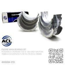 ACL MAIN BEARINGS STANDARD 132-138 6 CYL GREY MOTOR HOLDEN FX-FJ-FE-FC-FB-EK-EJ