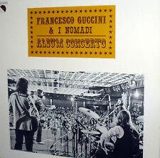 FRANCESCO GUCCINI & I NOMADI  LP ALBUM CONCERTO ORIGINALE 1979 EX/EX