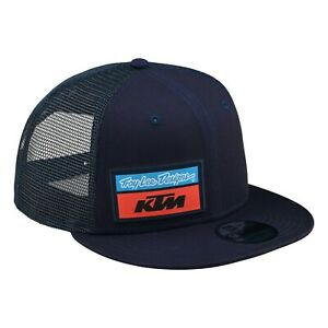 Troy Lee Designs KTM Team Snapback Hat Cap Stock TLD MX Motocross Navy OEM