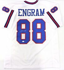 EVAN ENGRAM AUTOGRAPHED GIANTS CUSTOM WHITE COLOR RUSH JERSEY JSA WITNESSED