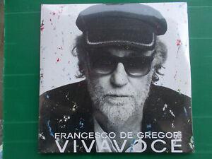 LP FRANCESCO DE GREGORI VIVAVOCE QUADRUPLO  VINILE 180 GR.SIGILLATO de agostini