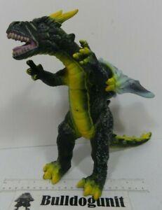 Big Green Dragon Monster Figure Soft Plastic Rubber Dinosaur Large Toy Figurine