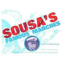 Sousa's Famous Marches Marching School Bands Basses Score Sheet Music #9D225