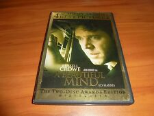 A Beautiful Mind (DVD, 2002, 2-Disc Widescreen)  Russell Crowe