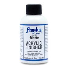 Angelus Matte Acrylic Finisher in 4 oz bottle