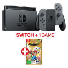 Nintendo Switch Grey Console + 1 Game - Nintendo Switch - BRAND NEW