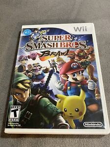 Super Smash Bros. Brawl (Wii, 2008) Complete