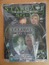 DVD COLLECTION STARGATE SG 1 PART 25 + MAGAZINE - NEW SEALED IN ORIGINAL WRAPPER