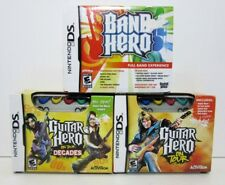 Guitar Hero On Tour - On Tour Decades - Band Hero Nintendo DS Games Lot of 3 New