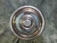 1 OEM 53-69 ROLLS ROYCE SILVER SHADOW VINTAGE STAINLESS STEEL HUB CAP blue ring