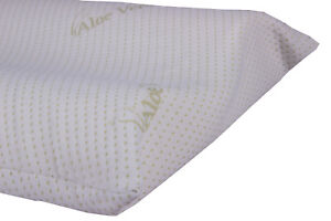 Pillows Pair IN Memory Orthopedic With Lining IN Aloe Vera