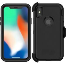 Otter Defender Series  Rugged shockproof Black case for iphone X/ XS retail box