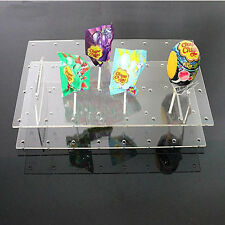 Hot Acrylic Cake Pop Stand Wedding Birthday Party Lollypop Holder Display AU
