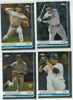 2019 TOPPS CHROME Aaron Judge Miguel Andujar J Loaisiga C Adams New York Yankees