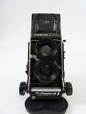 "Mamiya C330 F Twin Lens Reflex Camera Kit with 80MM F2.8 ""S"" Blue Dot Lens"