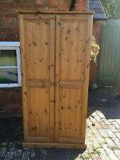 Fabulous Solid Pine Double Door Wardrobe with Drawer