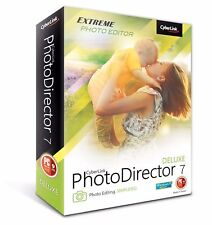 CyberLink photodirector 7 Deluxe-versione completa permanente (Mac, MacOS)