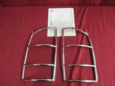 NOS OEM Dodge Ram 1500/2500/3500 Chrome Tail Lamp Light Trim Guards 2002 - 2008